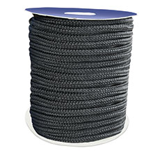 Mooring Double Braided Rope, Polyester, black_1150_1150