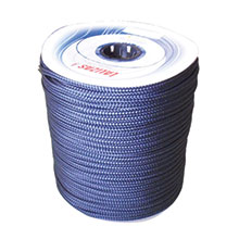 Mooring 16-Strand Double Braided Rope, Polyester, navy blue_2093_2093
