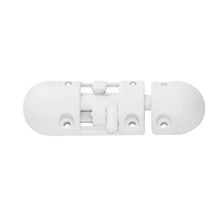 Anti-Rattle Barrel Bolt, Plastic, White_3625_3625