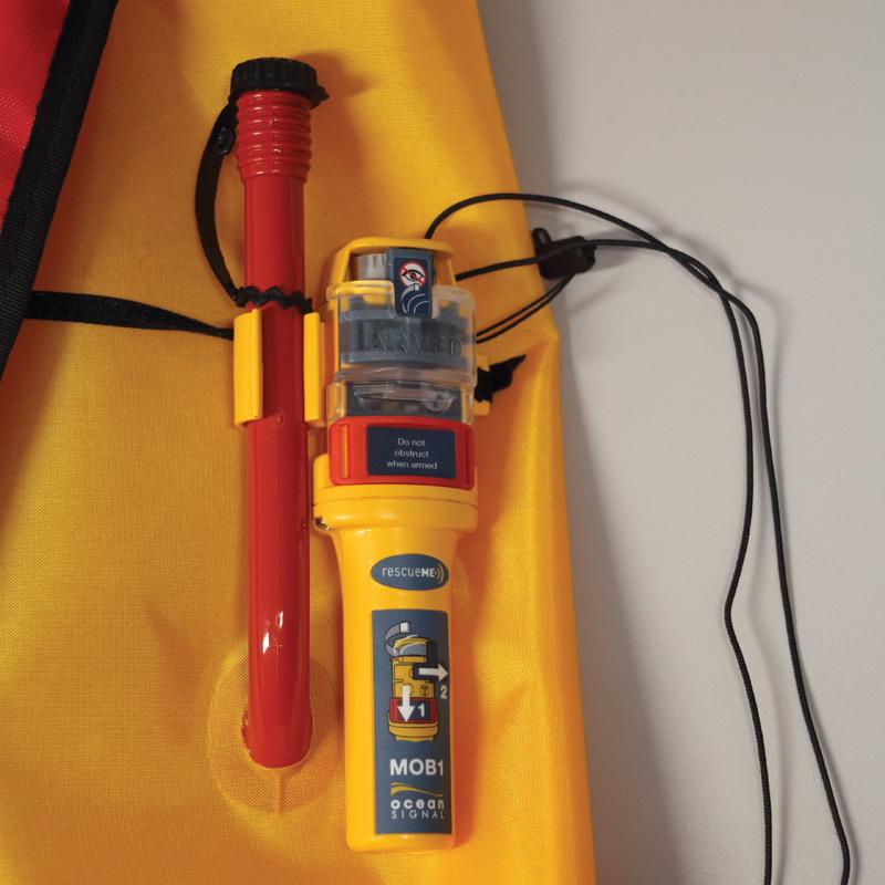 Lamda Inflatable Lifejacket Auto, 150N & 275N, SOLAS/MED with Ocean Signal MOB1, set_4534_4549