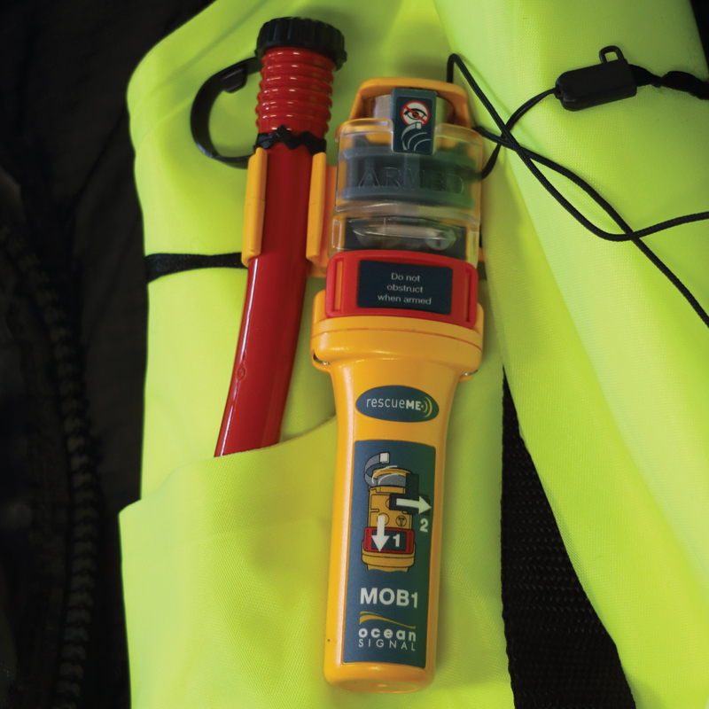 Theta Inflatable Lifejacket Auto, 290N, ISO 12402-2  with Ocean Signal MOB1, set_4538_4550