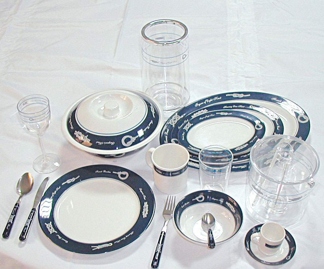 Sea Tableware range - ''Exclusive''_1484