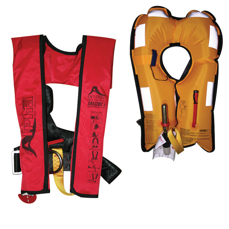 Alpha Inflatable Lifejacket 170N, ISO 12402-3
