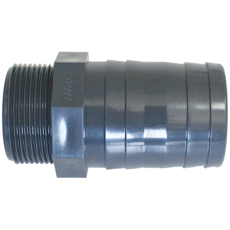 Hose Adaptors For Valve, Threaded BSPT, Plastic_3763