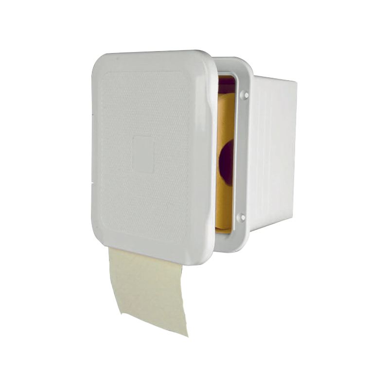 Case for Toilet Paper with door, White_3786