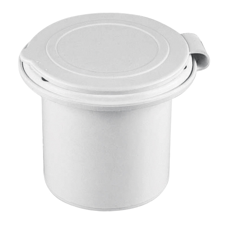 NuovaRade Case for Water Tap White Lalizas 42576 with Lid Round