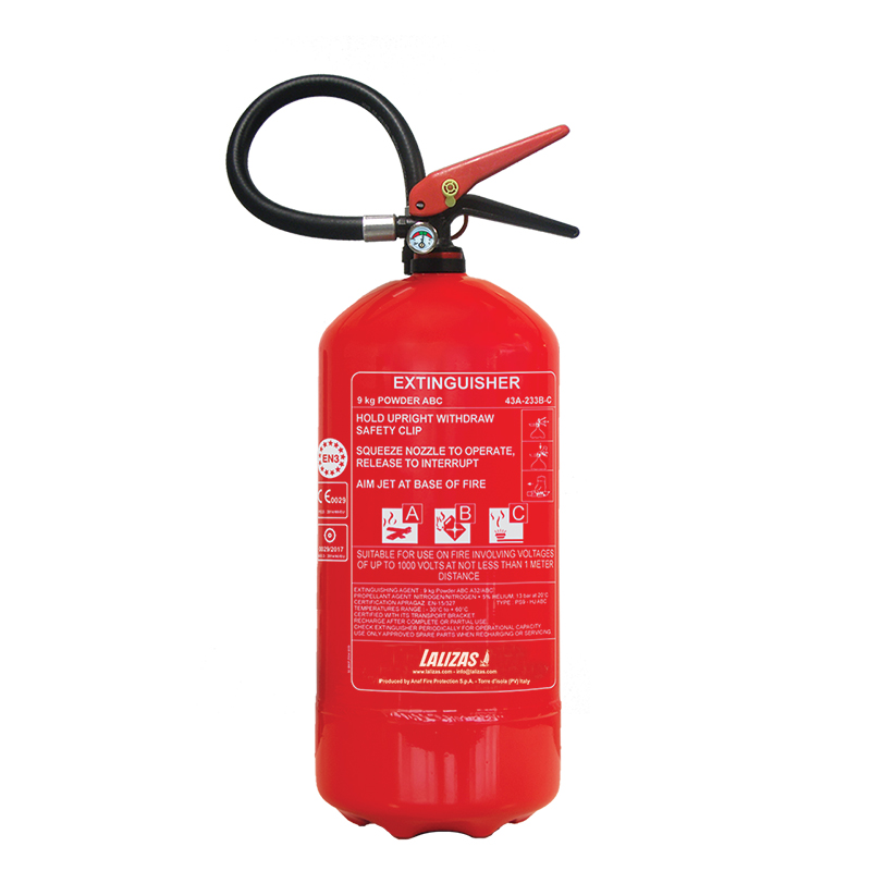 LALIZAS Fire Extinguisher Dry Powder_4461
