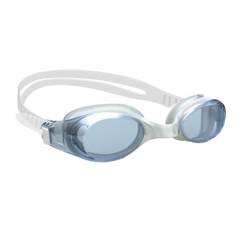 Junior Swimming Goggle, w/ Antifog lens, Silicone eyecups & strap, transparent black_4490