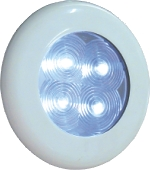 AquaLED Downlight, 1W, 12V/24V, waterproof