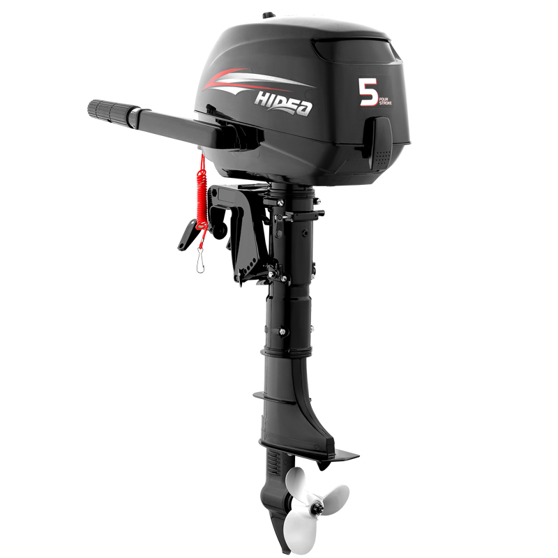 HIDEA Outboard Engines - Lightweigth & Portable - 2.5 HP, 5 HP & 6 HP_4638