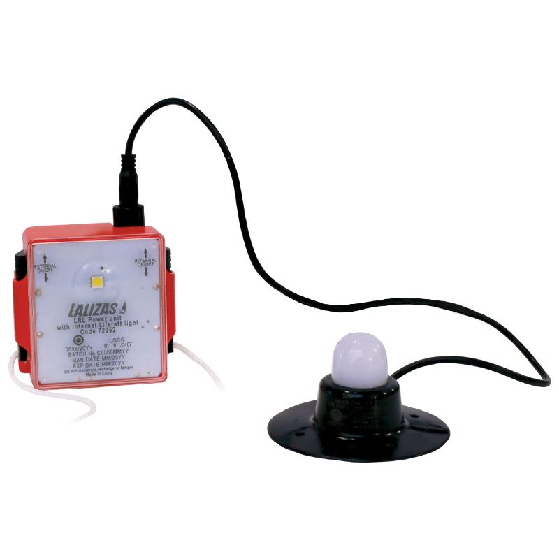 LALIZAS LRL External & Internal Liferaft Light, SOLAS/MED/USCG_4726