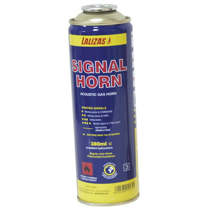 Refill canister 380ml for signal horn 10033